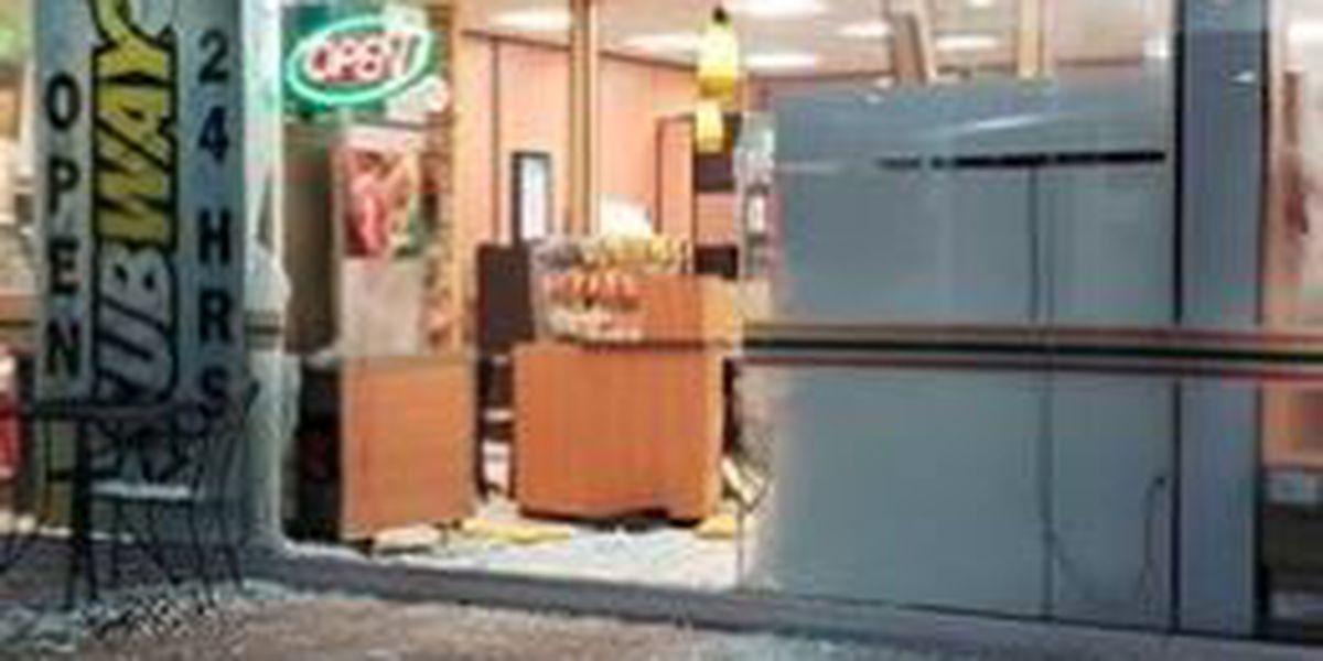 ATM stolen in Parma smash and grab