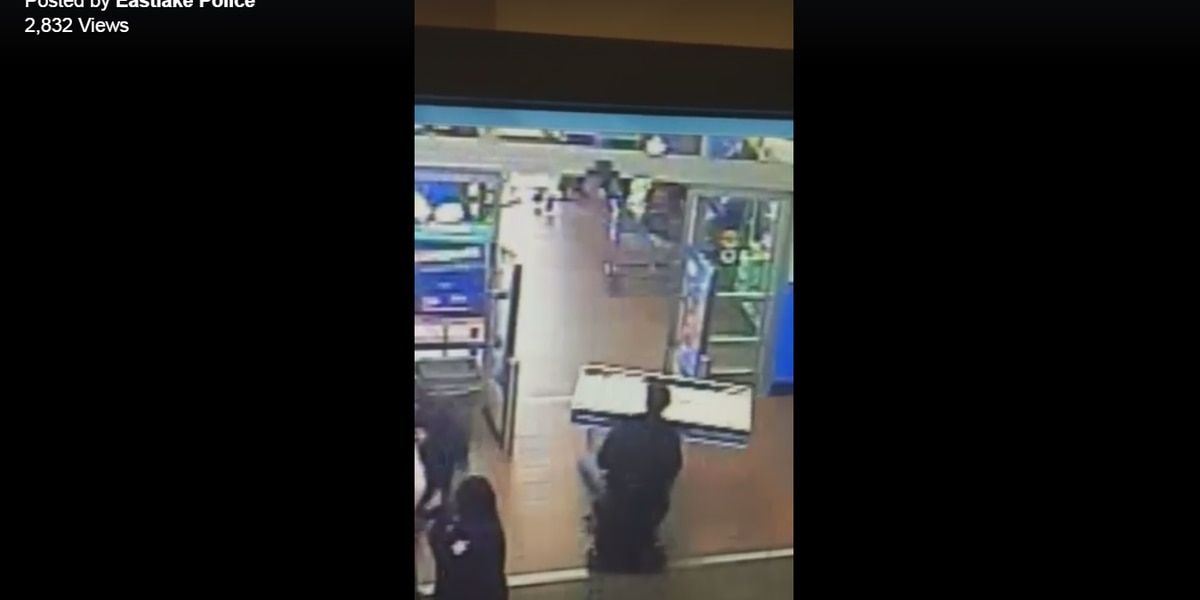 Man in motorized wheelchair tries to steal TV from Eastlake Walmart