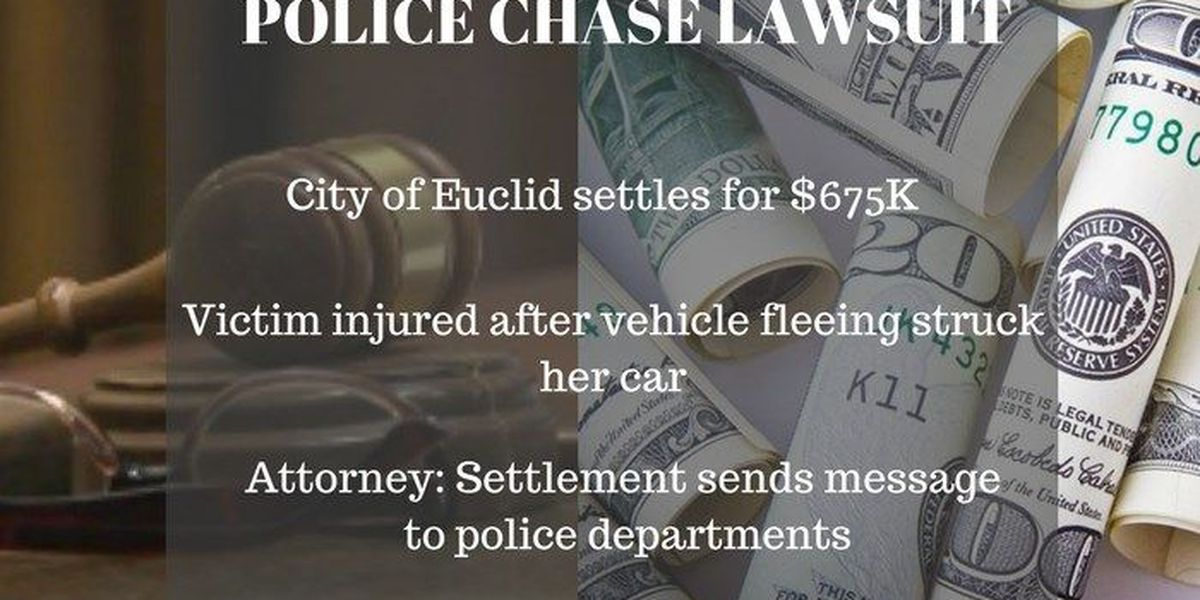 Euclid settles high-speed police chase lawsuit for $675K