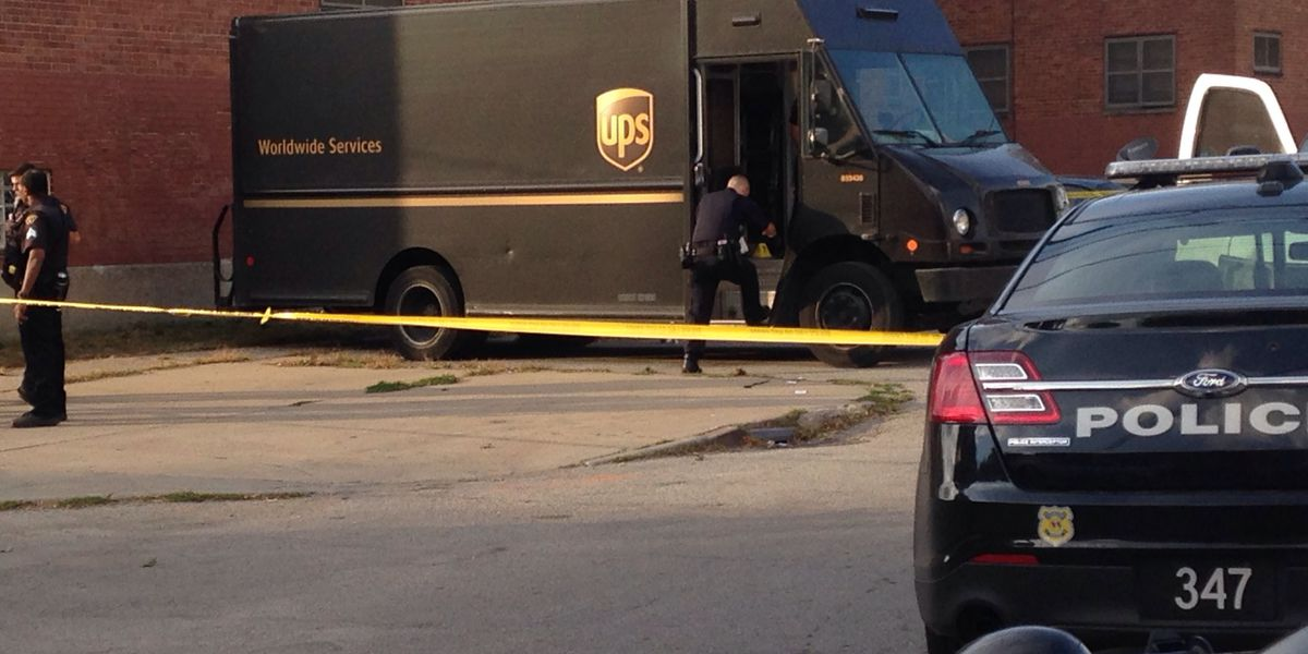 UPS driver shot several times on Cleveland's East Side in serious condition