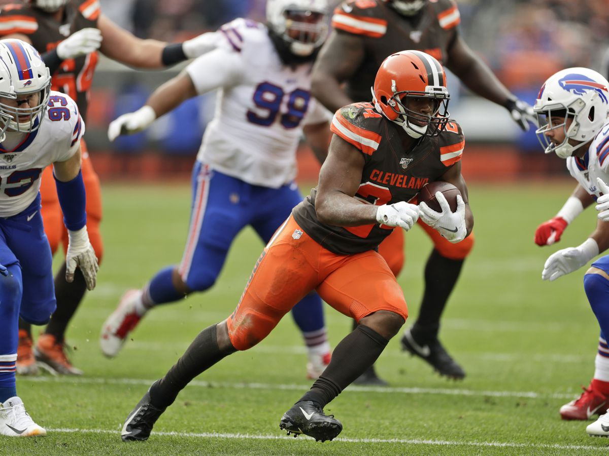 Cleveland Browns snap losing streak with 19-16 victory against Buffalo Bills