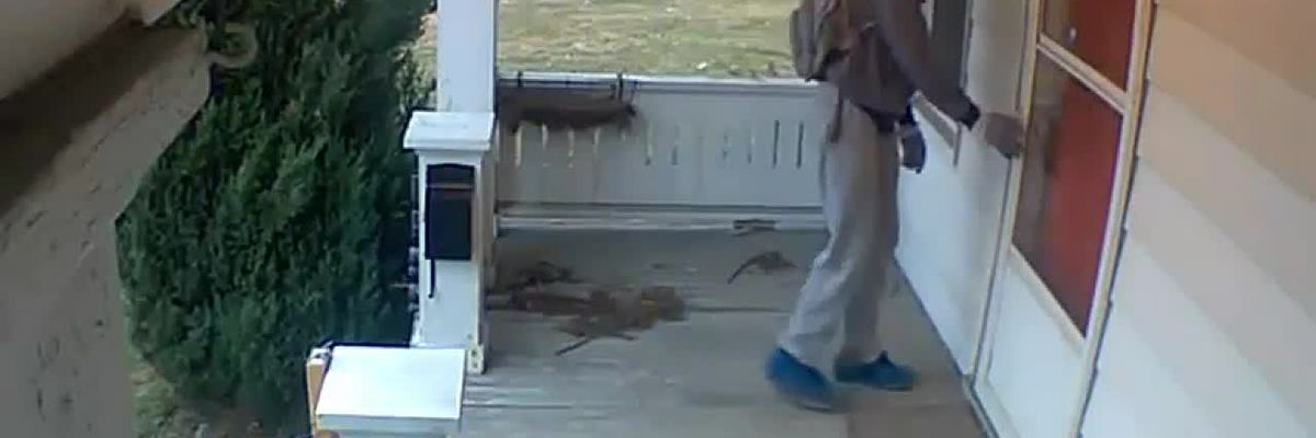 Akron police searching for breaking and entering suspect caught on camera