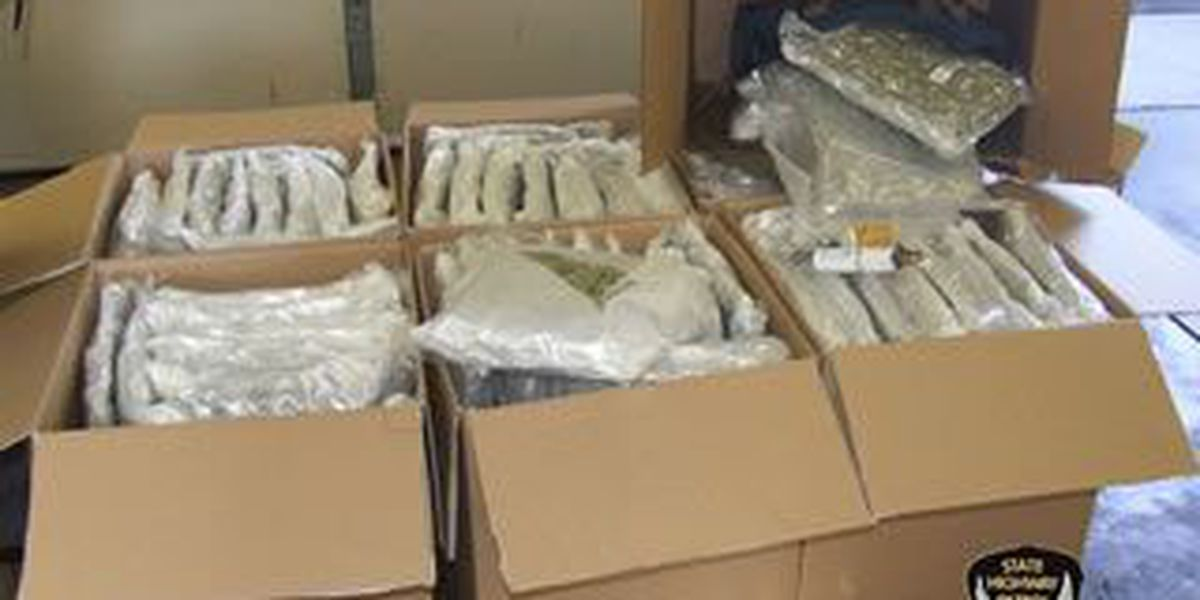 Troopers seize 186 pounds of pot, prescription drugs on turnpike