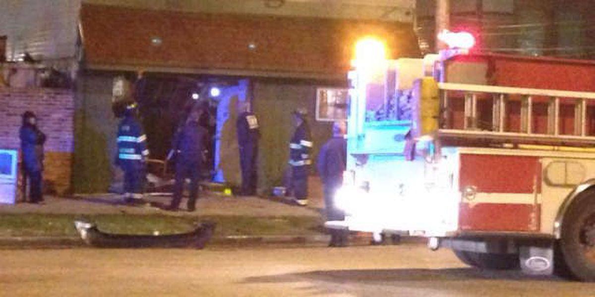 Investigation: Van smash and grab at local bar