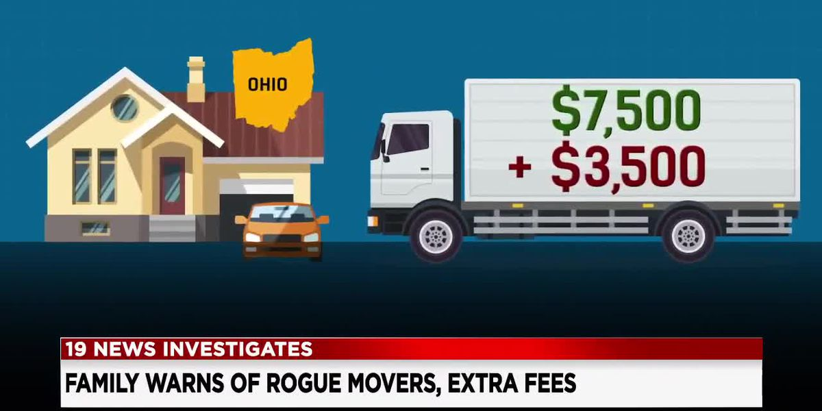 'They have your stuff hostage': Woman says moving company refused to unload truck