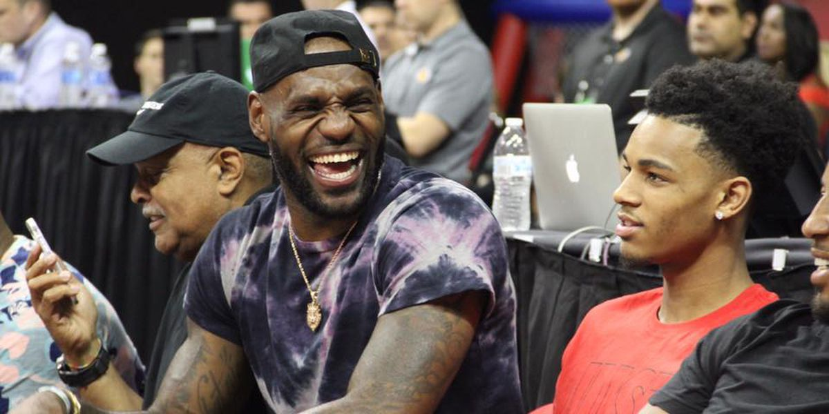 LeBron attends LA Lakers Summer League game, posts about Lonzo Ball