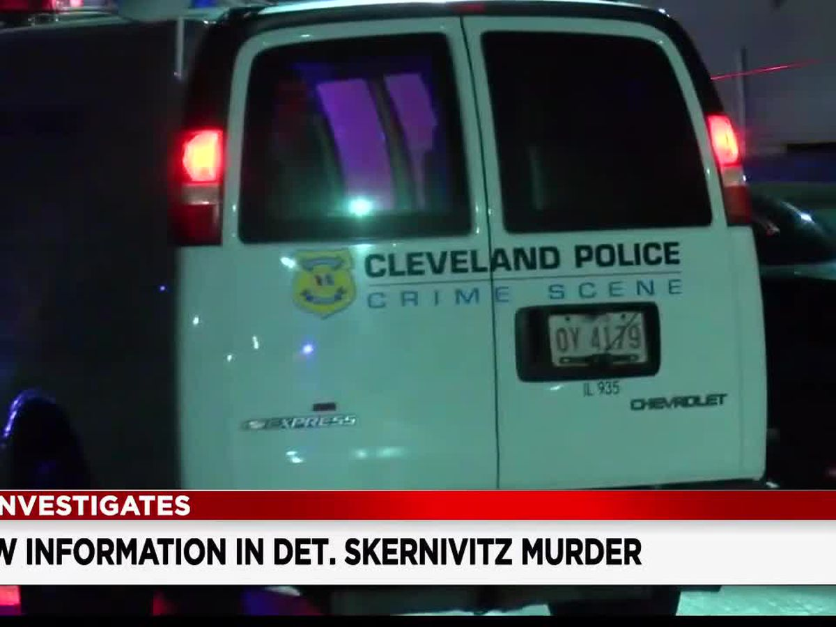 Cleveland Police release 911 calls from the night Det. James Skernivitz and another man were murdered