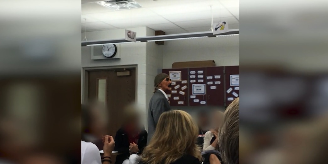 Elementary school principal disciplined after wearing blackface during staffing event