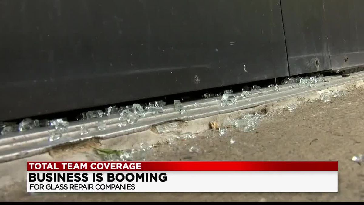 Northeast Ohio glass repair company sees spike in customers following destructive demonstrations