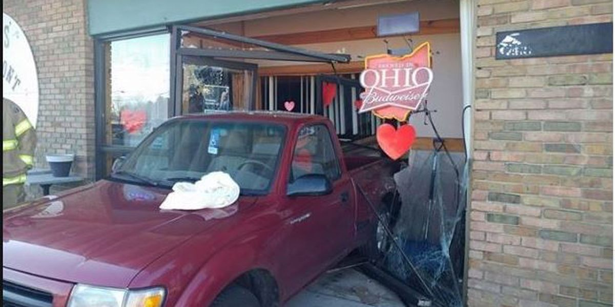 Driver mixes up gas and brake pedals, ends up inside bar