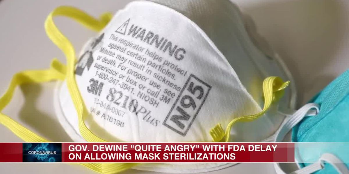 Gov. Mike DeWine calls President to get action on hospital masks