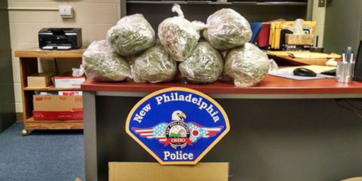 Police say someone tried to mail OH man 7 lbs. of pot