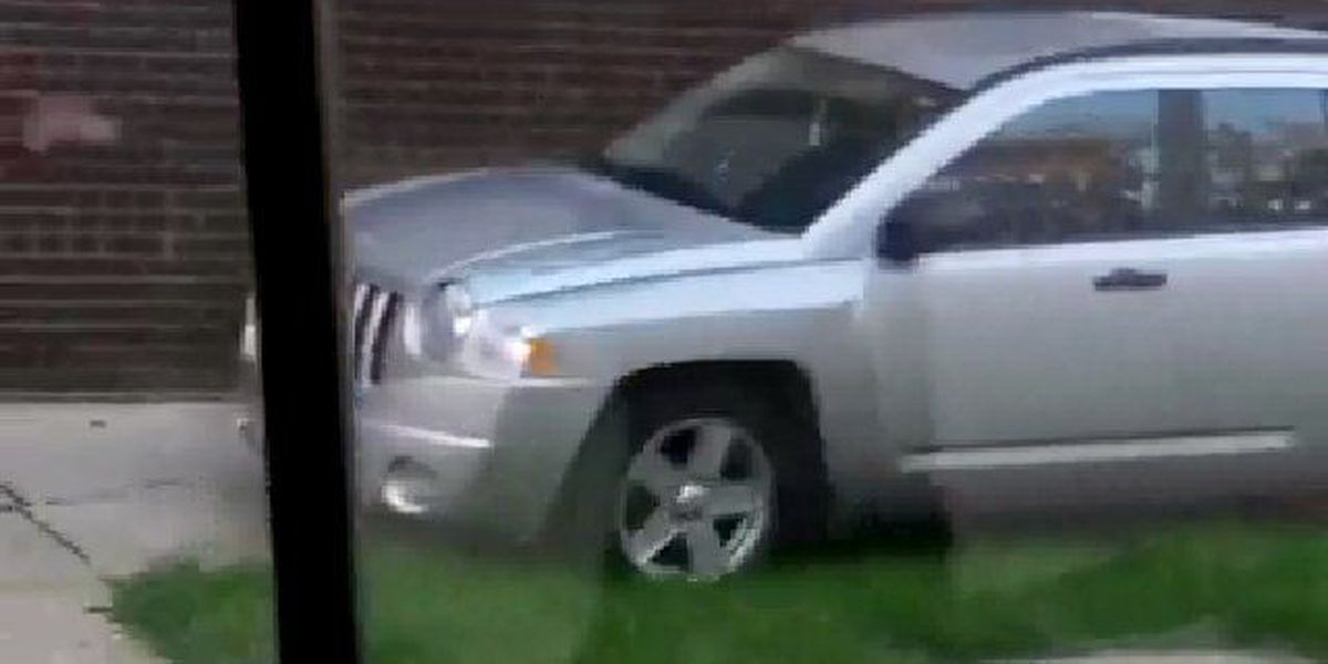 Cleveland woman busted driving on sidewalk to avoid school bus