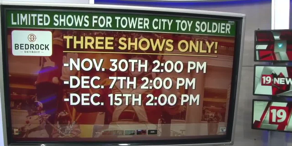 Cleveland's Tower City Toy Soldier performance greatly reduced this year