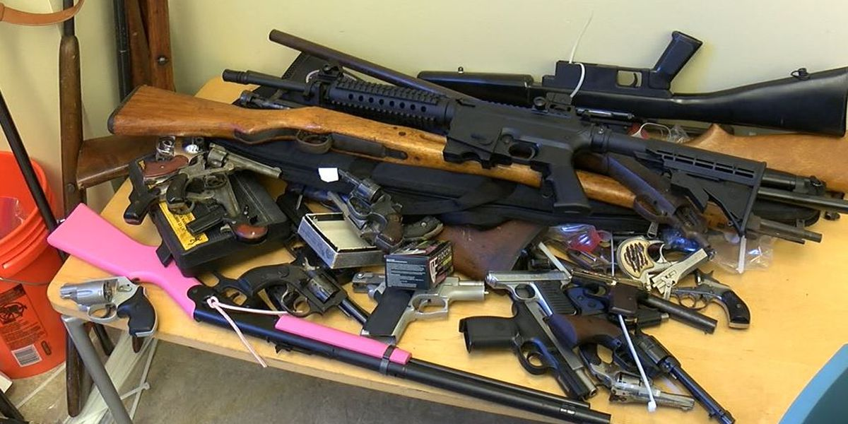 150 guns collected during annual Cleveland Police gun buyback event