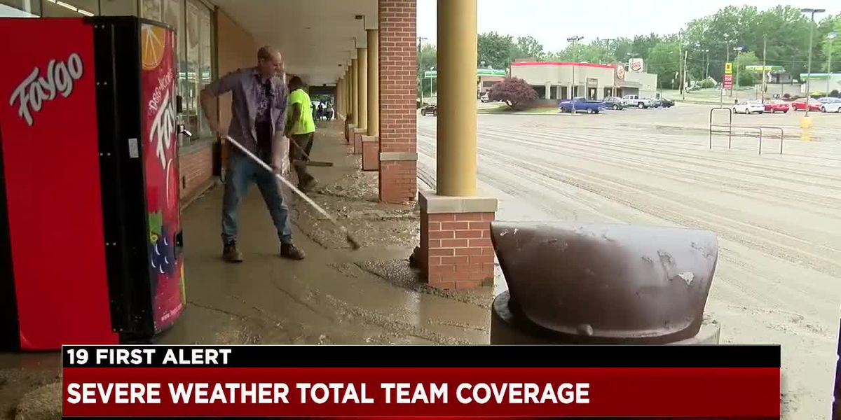 Rittman cleaning up tons of mud after floodwaters consume city; more rain on the way