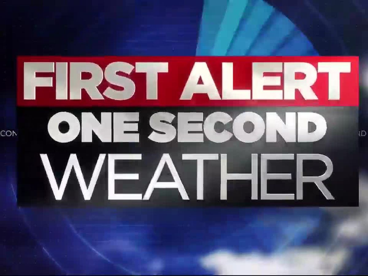 First Alert One Second Weather