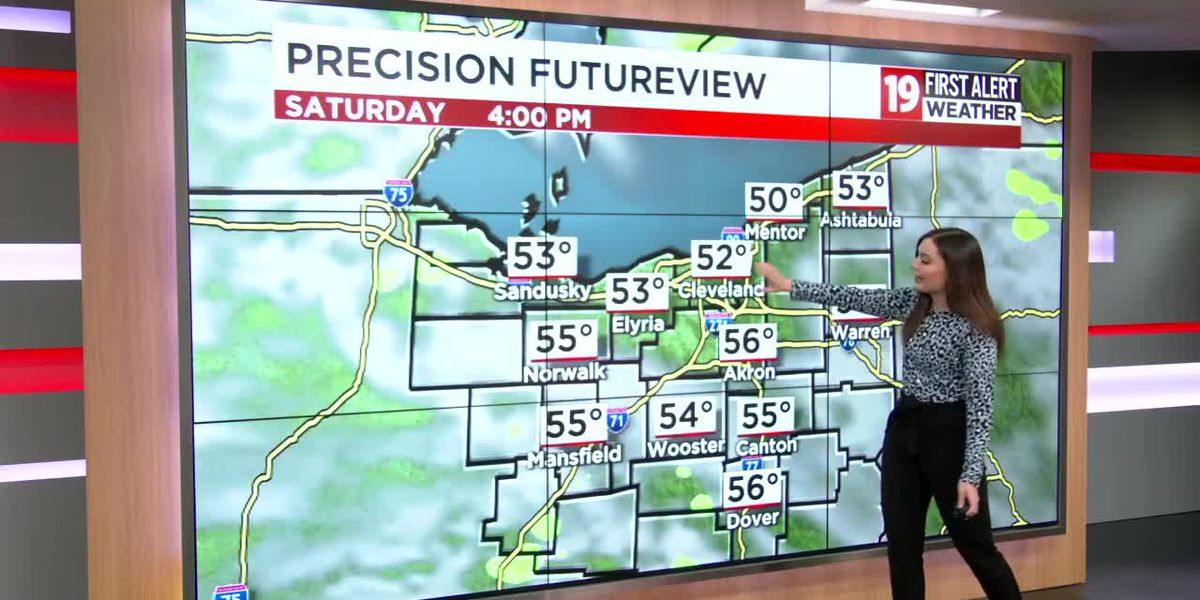 Northeast Ohio weather: Cool pattern hangs on into next week; a few flakes mid-week
