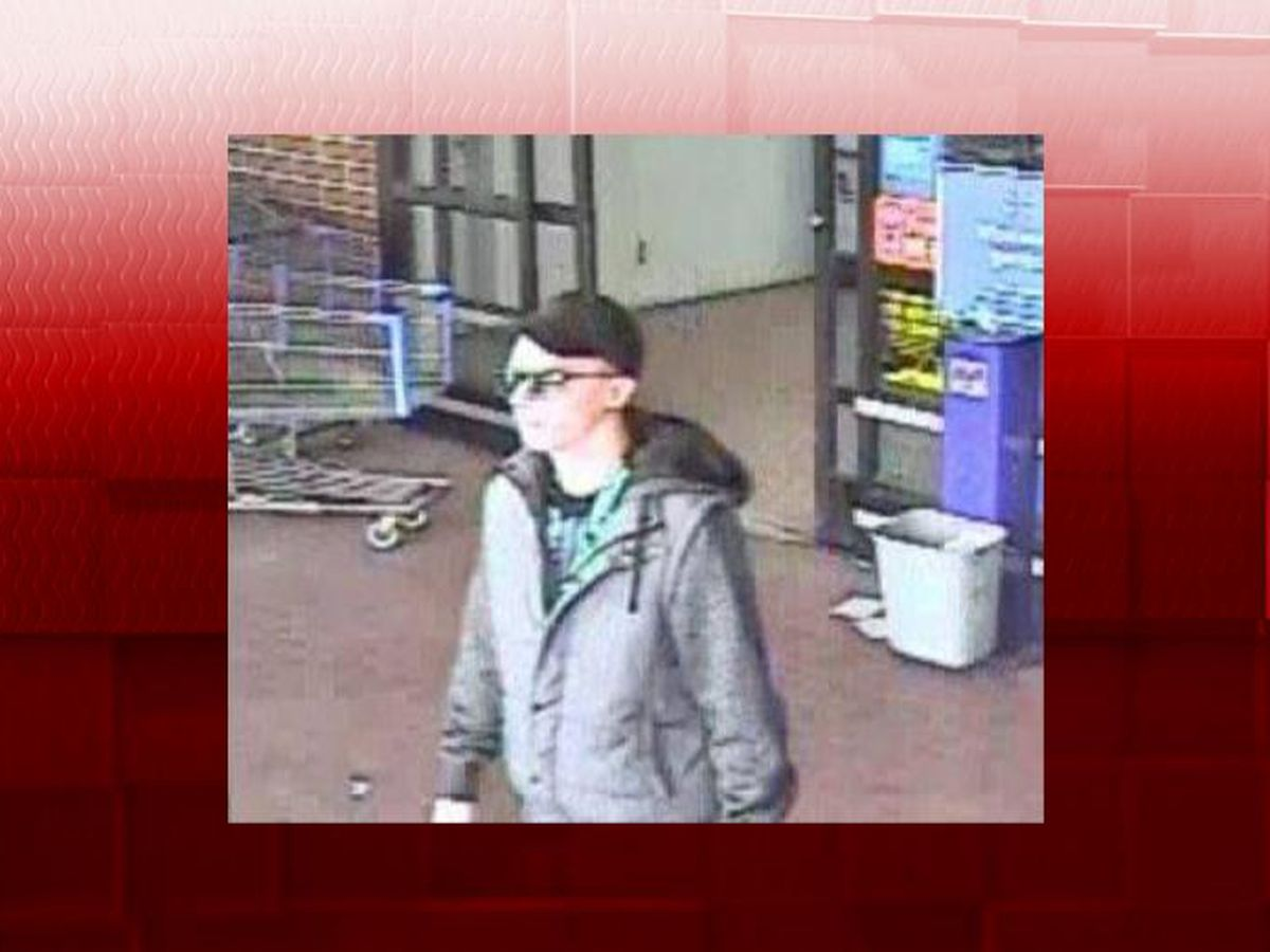 Elyria police seek to identify Walmart video game thief