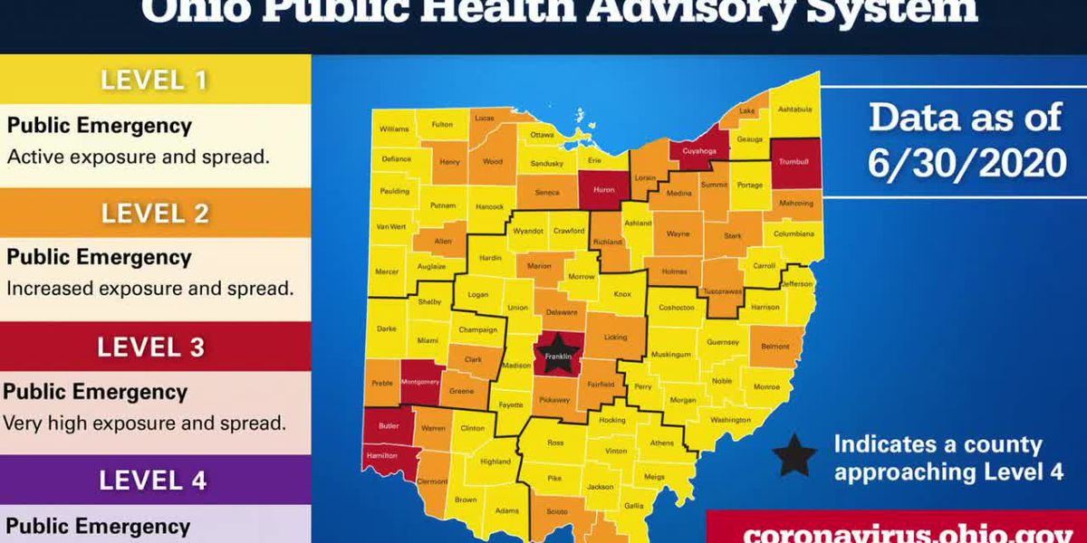 1,301 new COVID-19 cases, 27 deaths reported over last 24 hours in Ohio