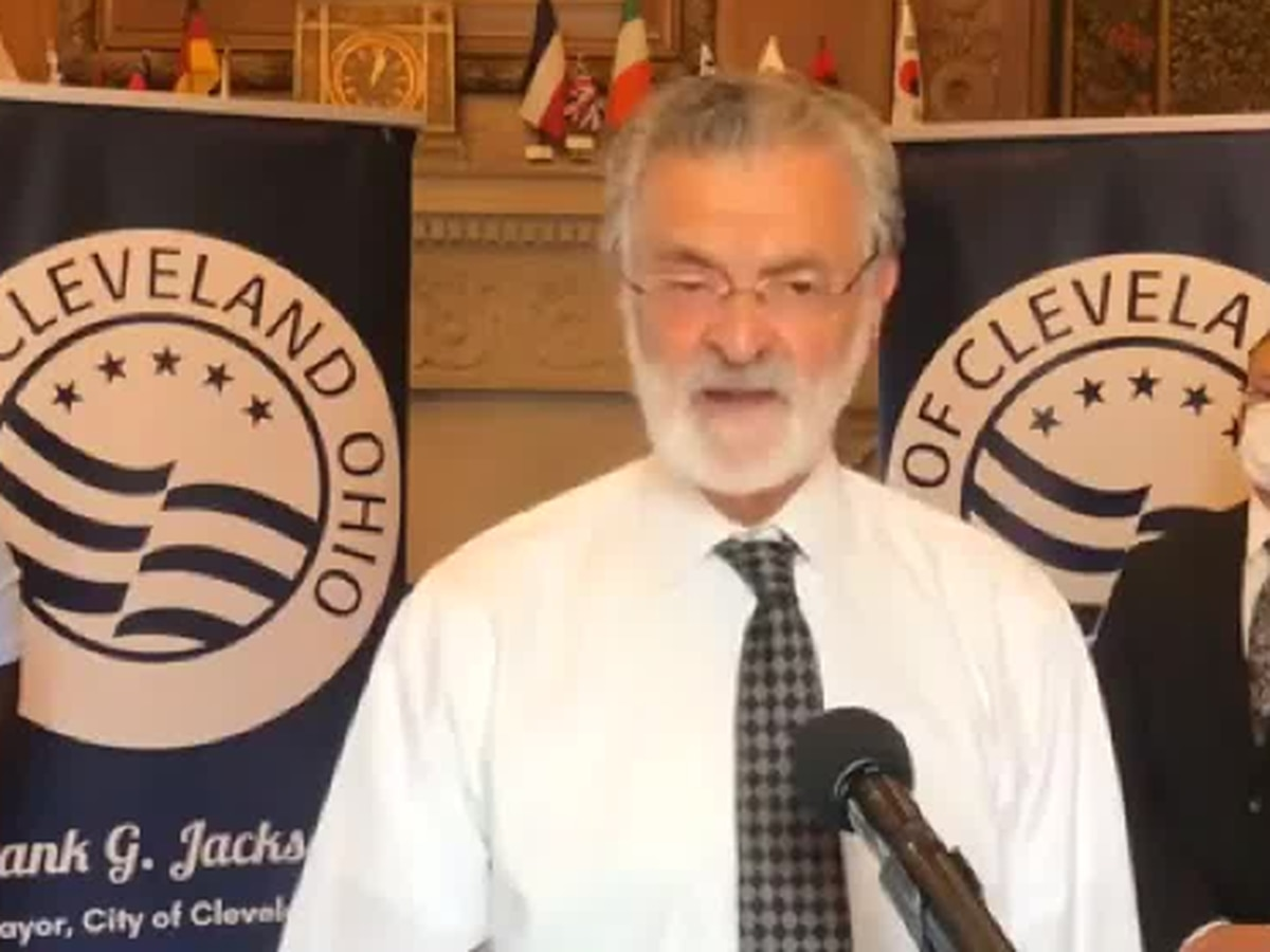 Cleveland Mayor spoke about holiday weekend violence after 27 shot, 4 killed