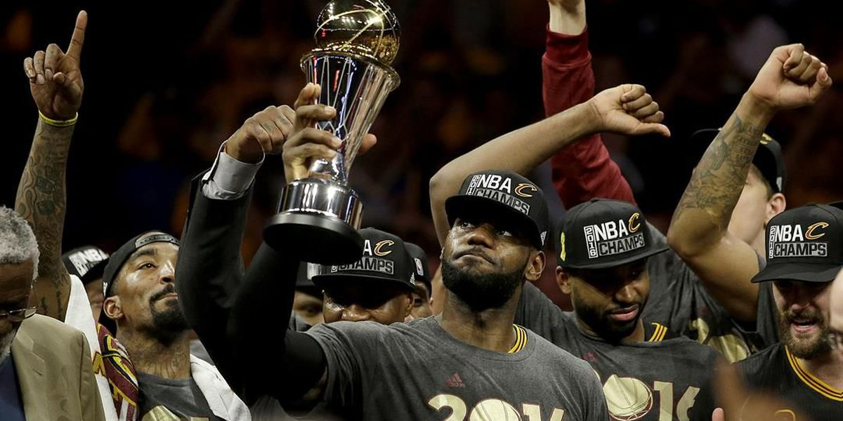On this day in 2016, the Cavaliers won the NBA Finals; relive the final moments
