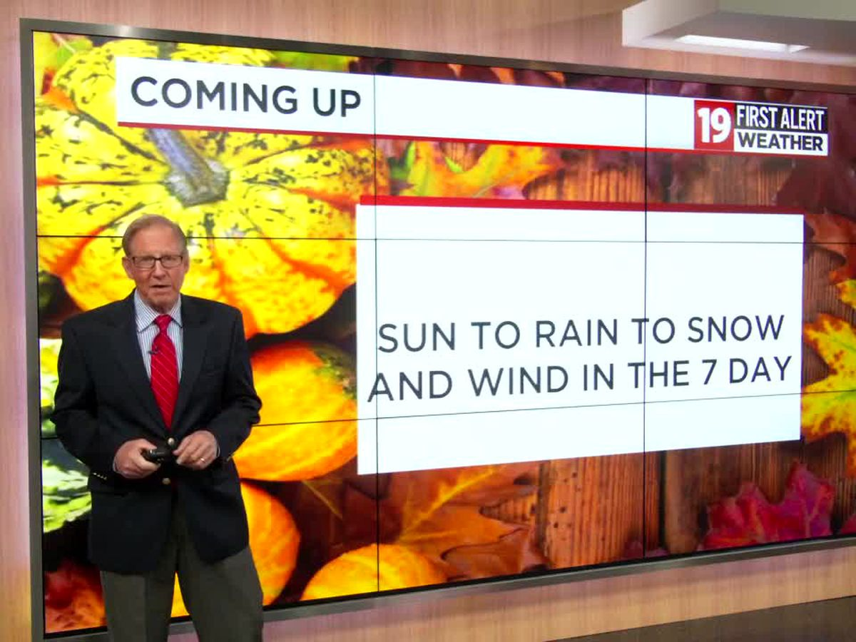 Northeast Ohio Weather: Dry Sunday before Winter Storm arrives late Monday