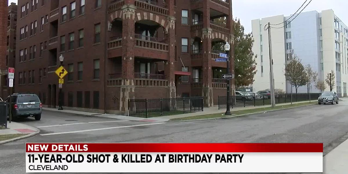 11-year-old boy shot and killed at birthday party