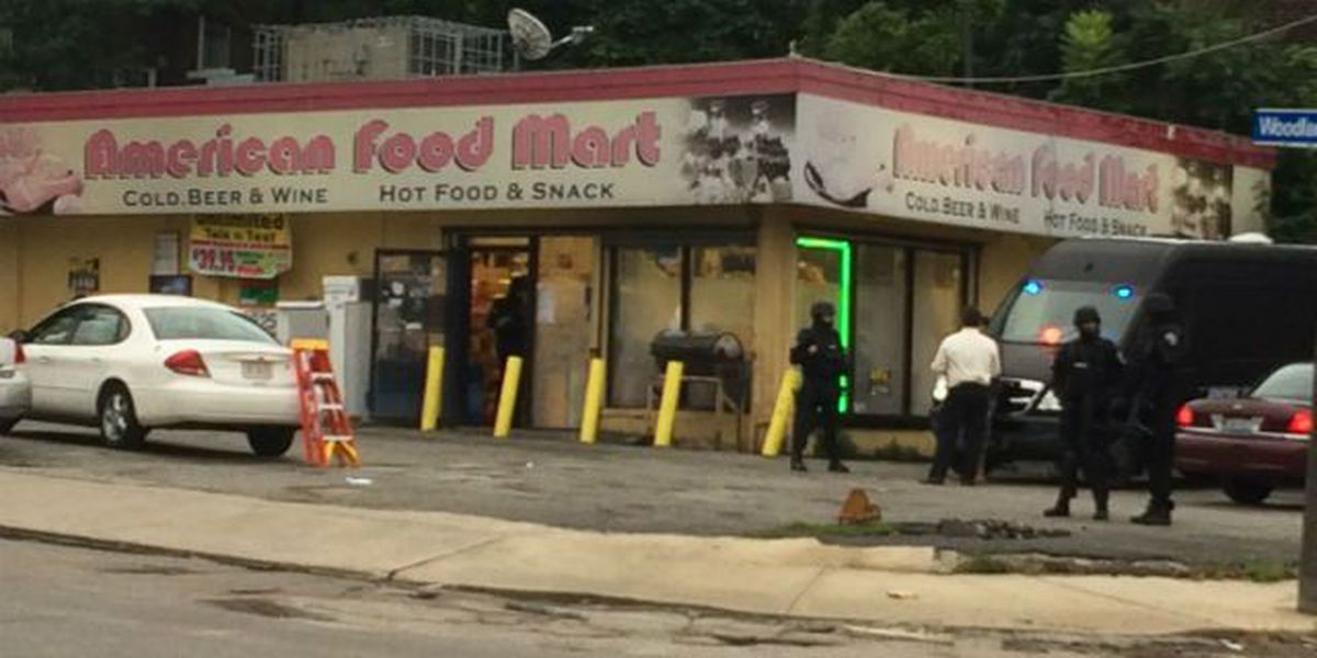 Warrant served at East Side food mart