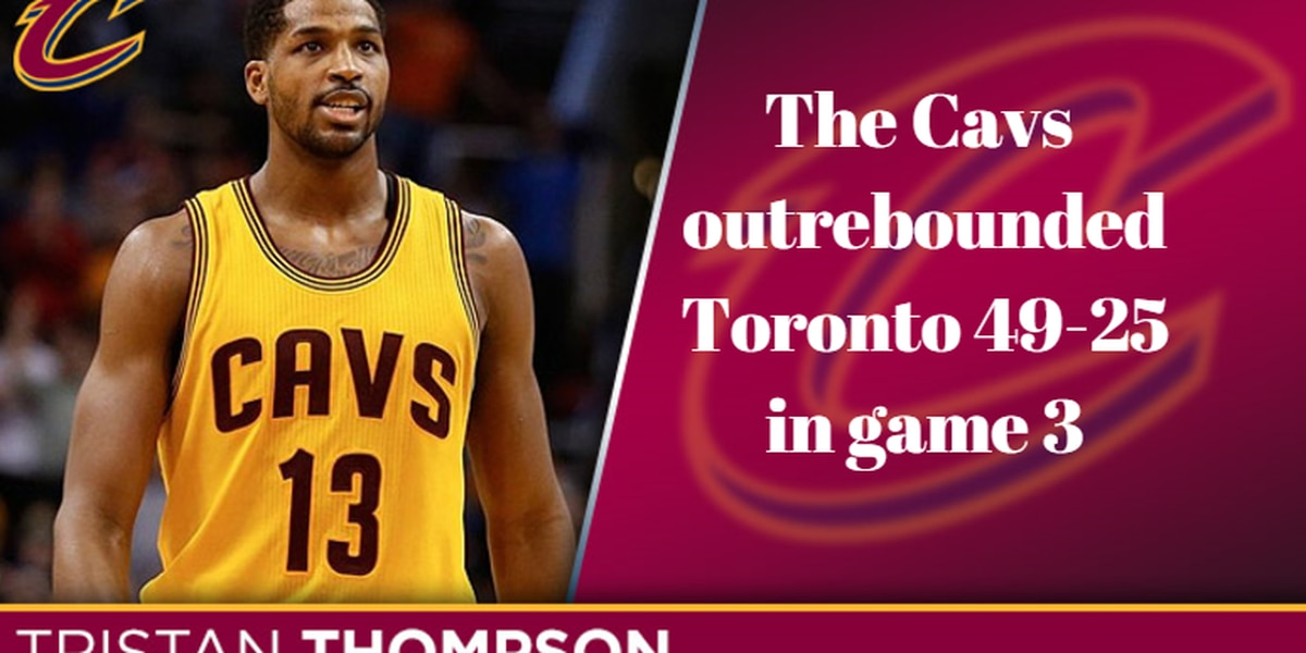 The Cavs have the advantage on the glass vs. the Raptors
