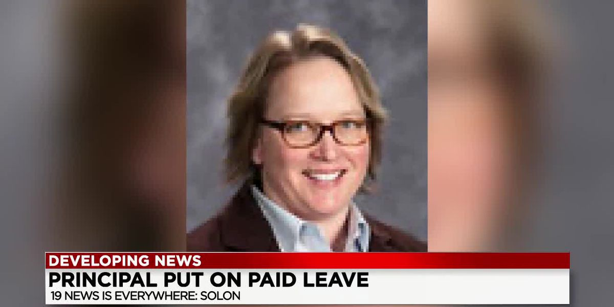 Solon High School principal placed on paid administrative leave