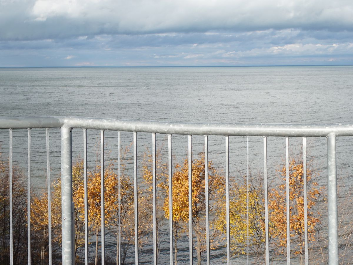 On New Year's Day you missed Lake Erie shifting several feet in a natural phenomenon