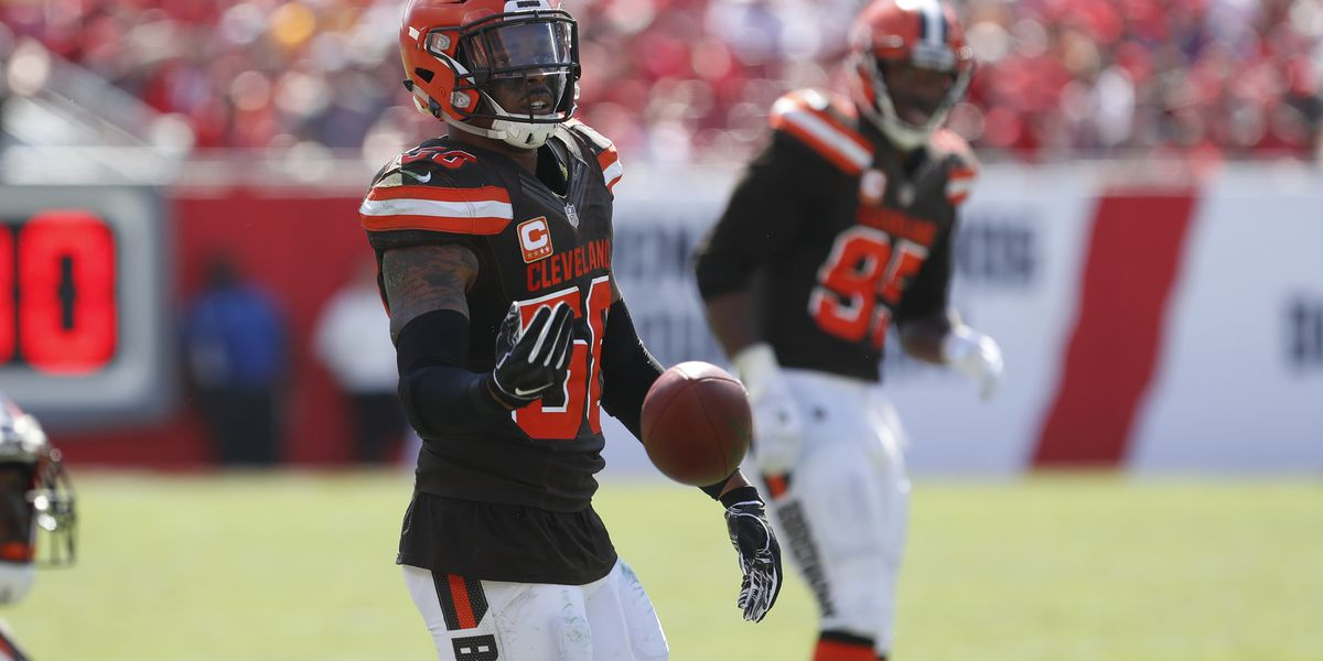 Cleveland Browns team captain and LB Christian Kirksey has season-ending surgery