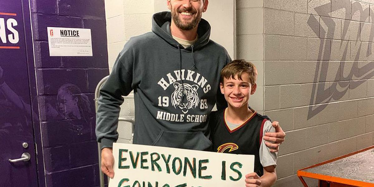 Cleveland Cavaliers star Kevin Love receives NBA Cares award for raising awareness about mental health