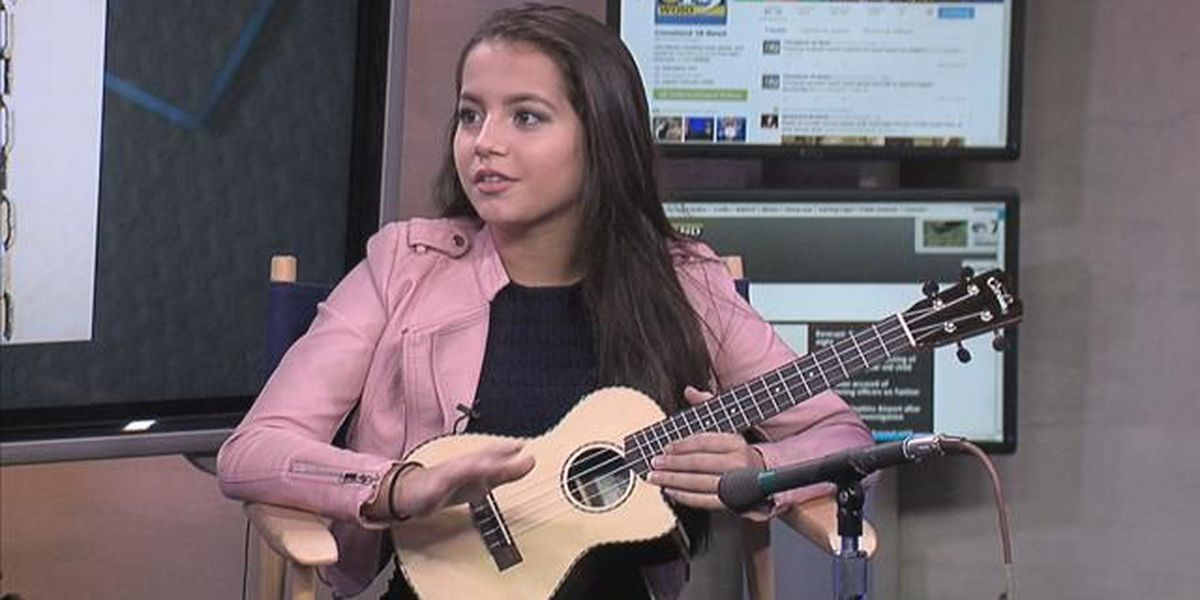She sings, she acts and she's a Cleveland native, Isabela Moner stops by