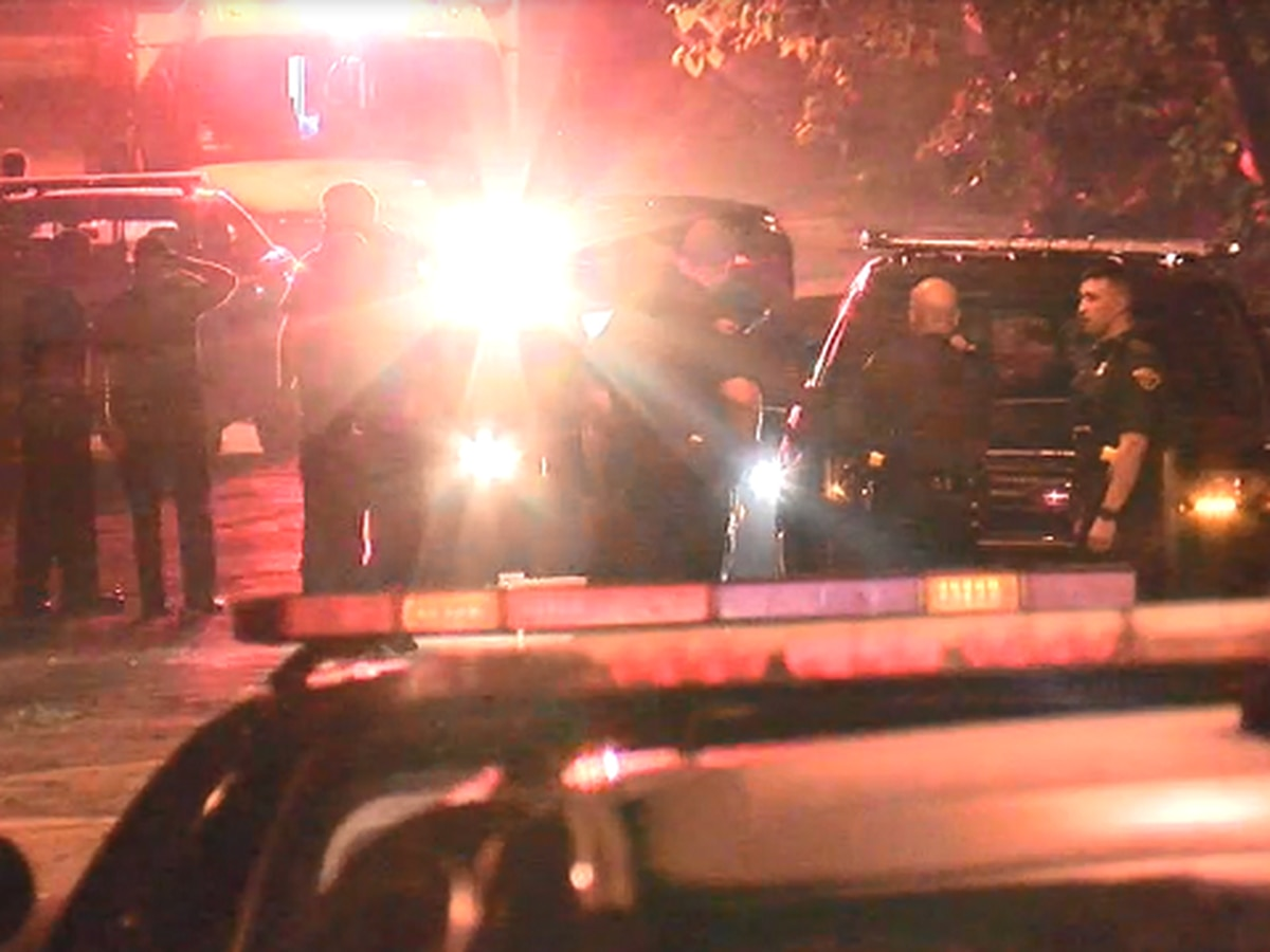 Cleveland police officers nearly T-boned, shot at during traffic stop