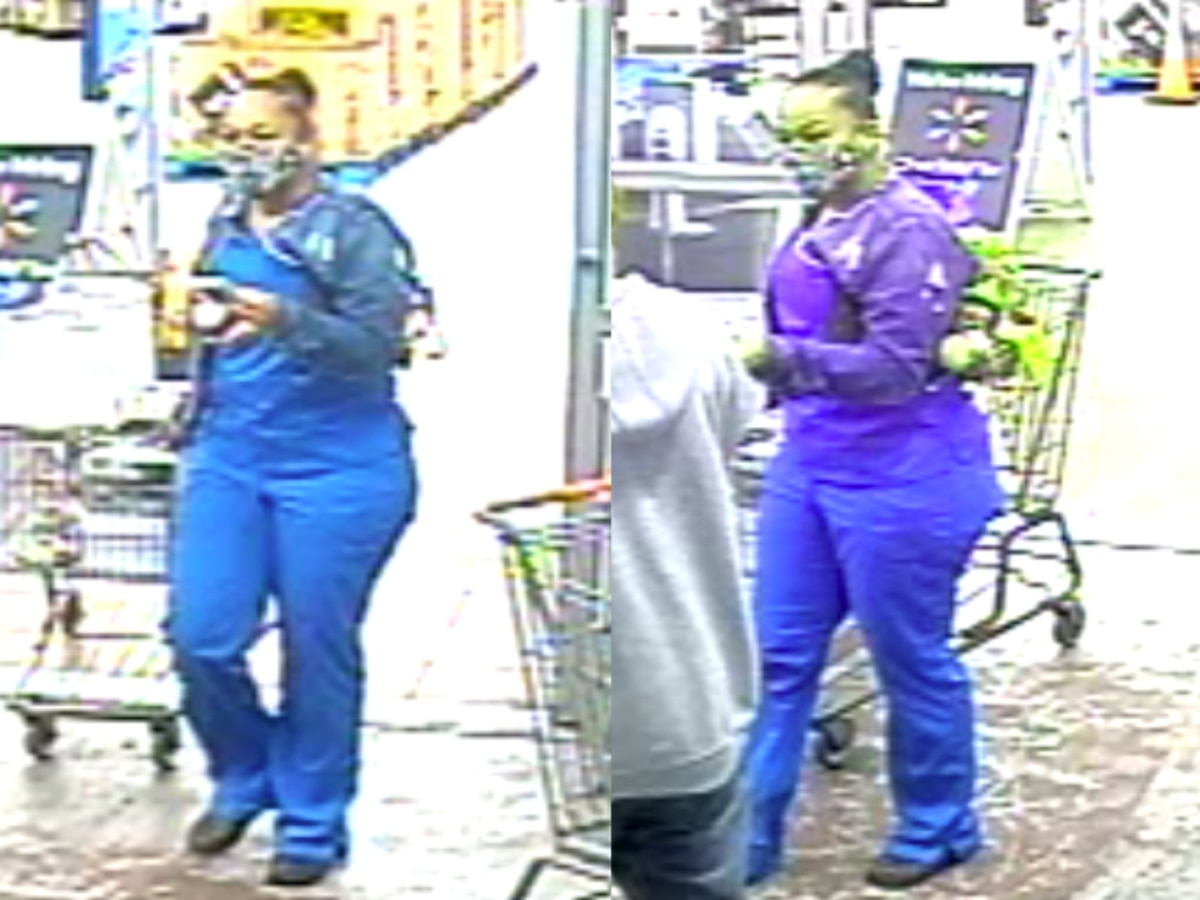 Woman suspected of stealing from Walmart wanted by Bainbridge Township Police