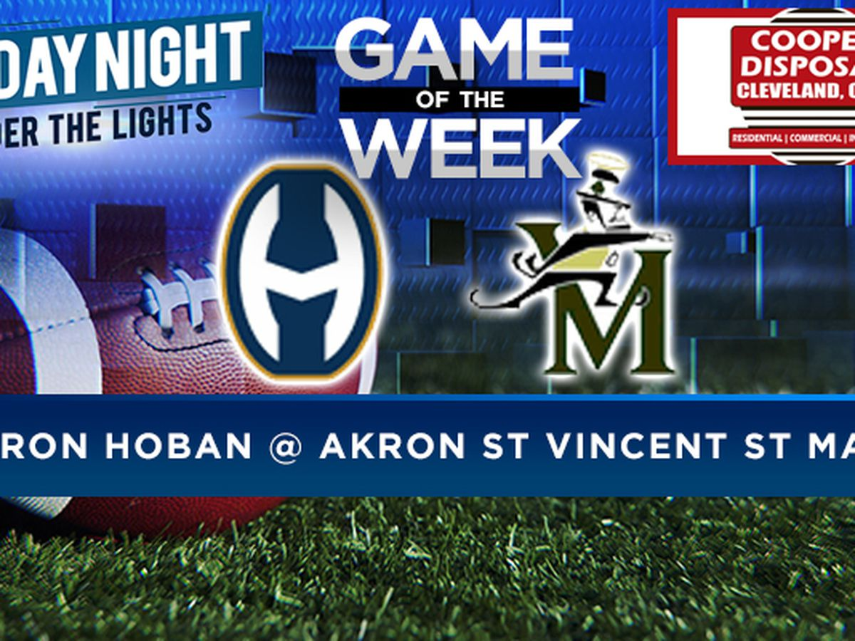 Game of the week: Akron Hoban vs. St. Vincent St. Mary