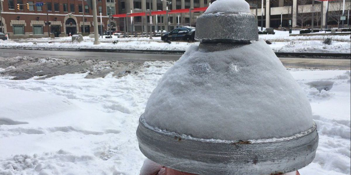 Chances of frostbite increase with dropping temperatures