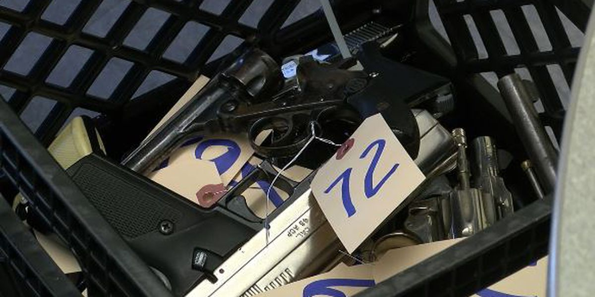 Cleveland police hold 12th annual Gun Buy Back program