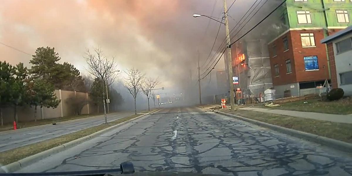 Rocky River police release dash camera video from Sunday's fire