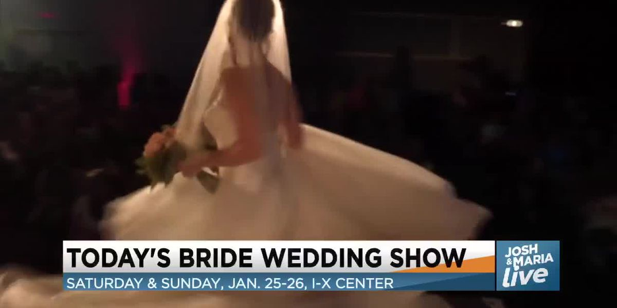 Today's Bride experts show Josh and Maria the top wedding trends for 2020