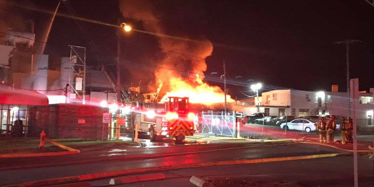 8 injured, 1 missing after explosion at Columbus paint factory