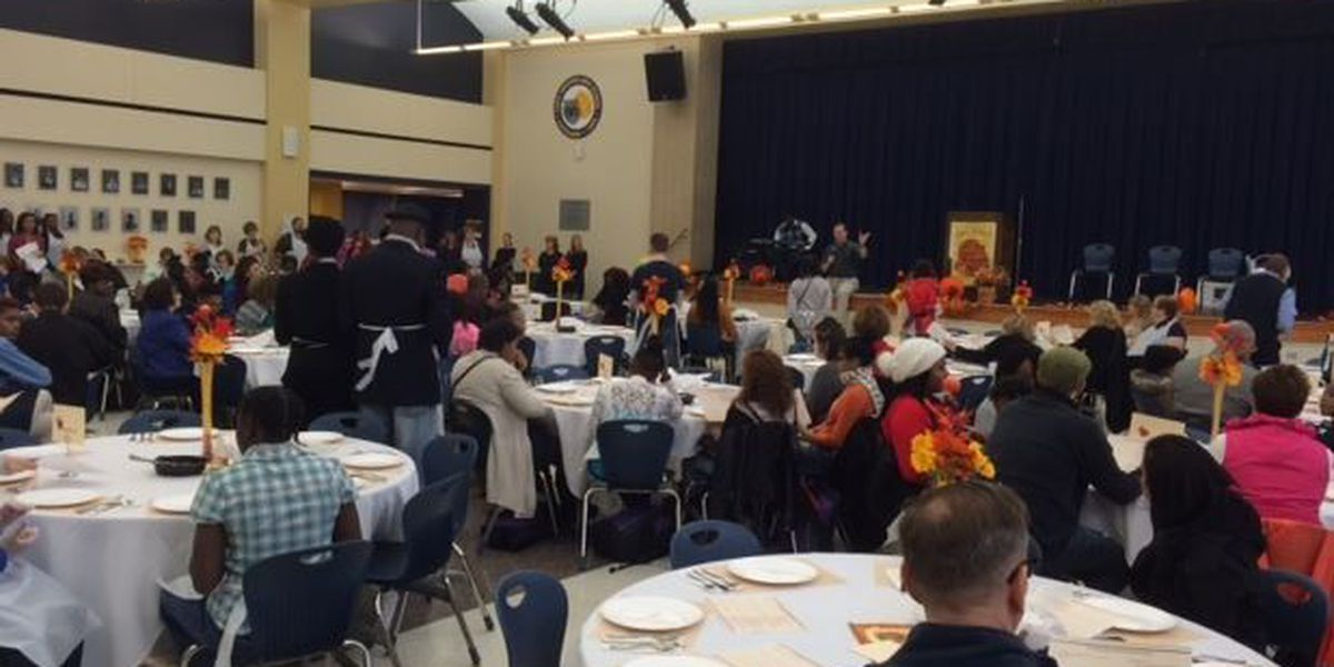 6th Annual Thanksgiving dinner foster care youth