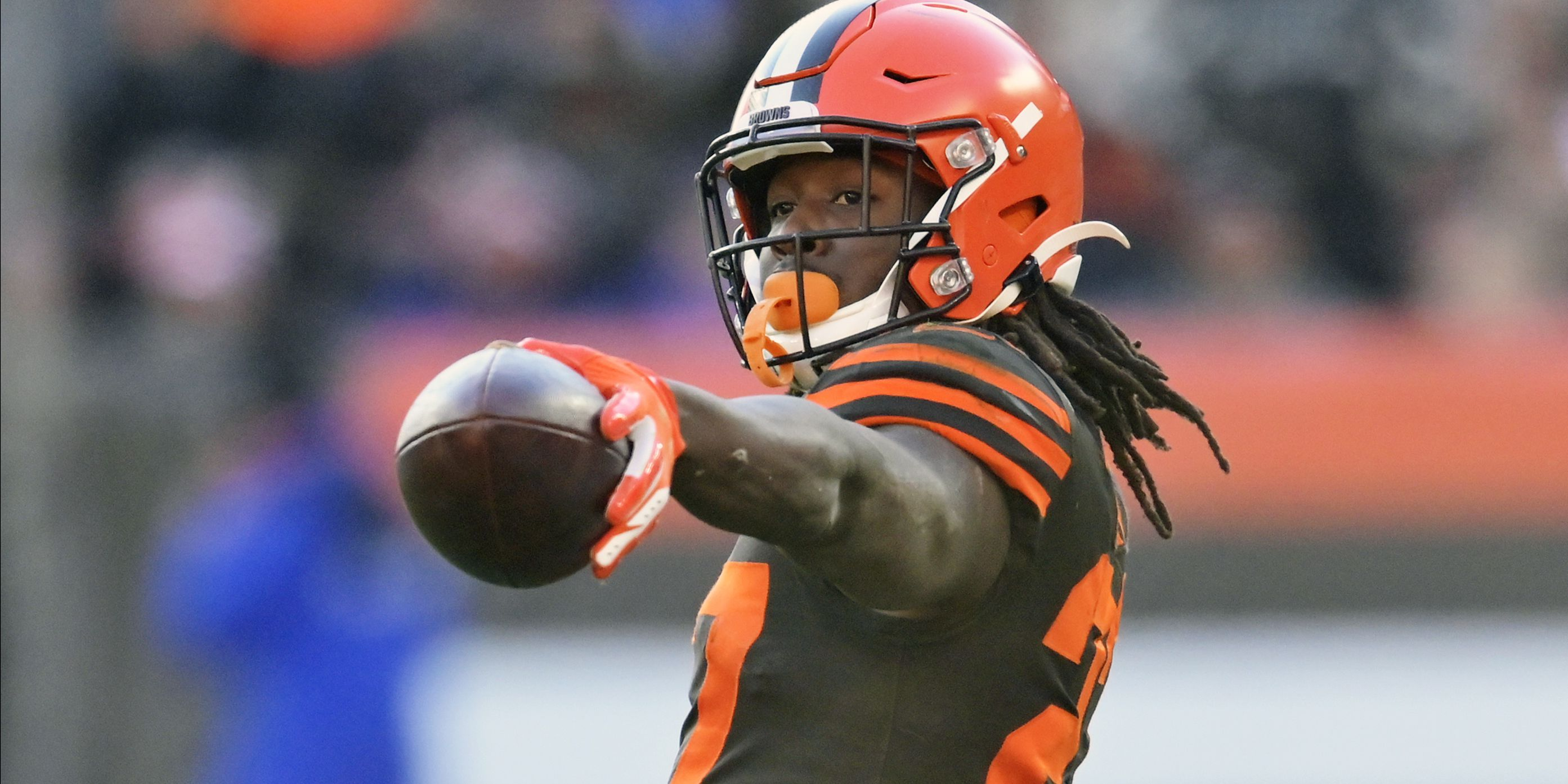 Cleveland Browns' Kareem Hunt 'blessed' for another chance after traffic stop