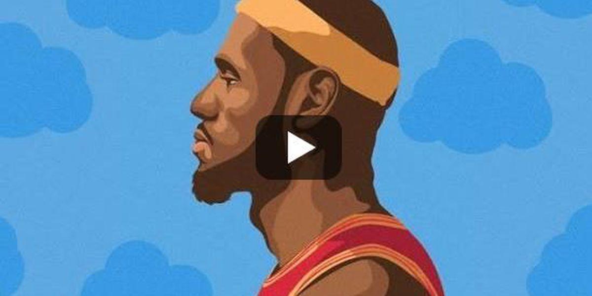 "Cleveland Cavaliers fan drops Drake rap parody, ""Bron's Plan"""