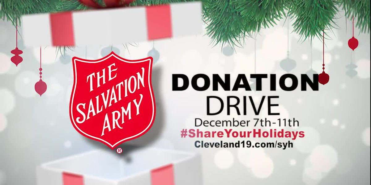 Share Your Holidays sponsored by Salvation Army