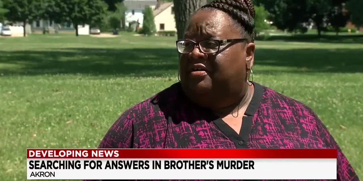 Woman seeks justice after brother murdered near University of Akron campus