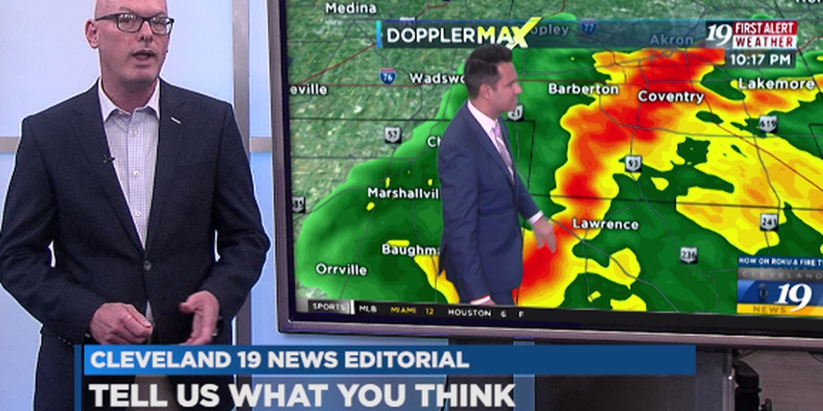 Tornado coverage will always be more important than regular programming (editorial)