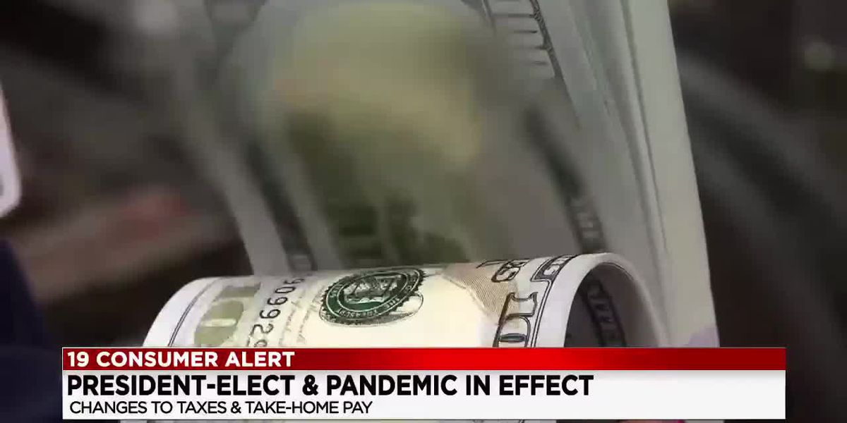 President-elect & pandemic in effect; changes to taxes and tax-home pay